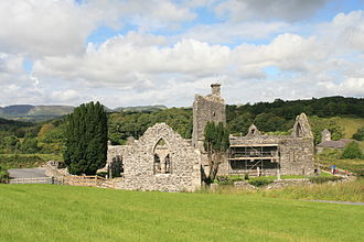 County Leitrim - The ruins of Creevelea Friary, near Dromahair.