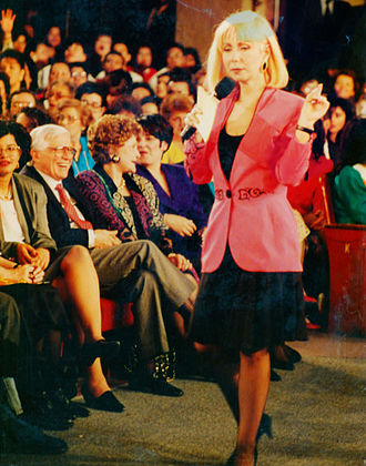 Cristina Saralegui - Saralegui in March 1992