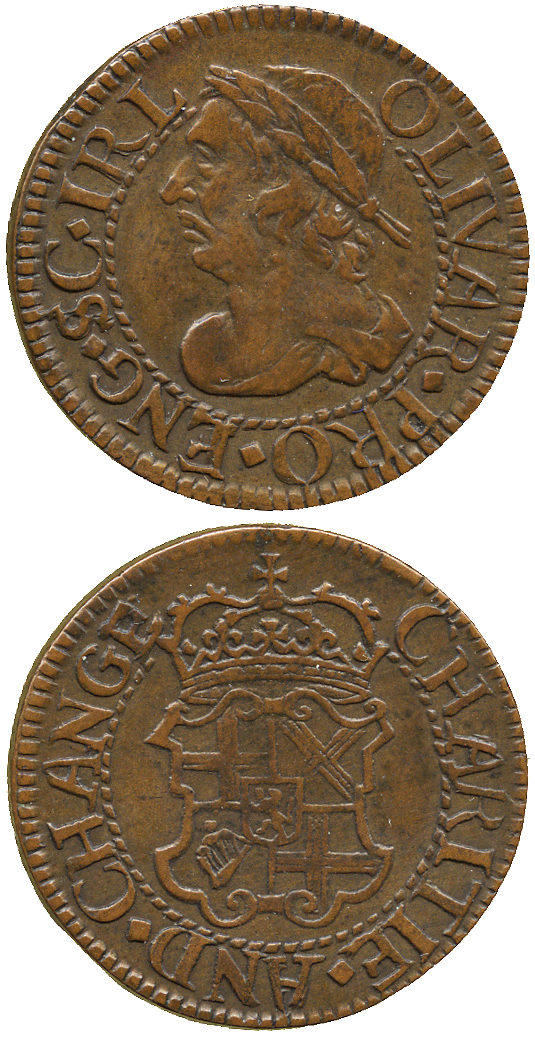 Cromwell farthing