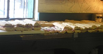 Cuban bread - Cuban bread is used to make Cuban sandwiches.