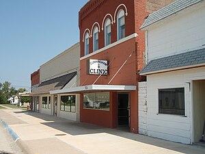 Cunningham, Kansas - Image: Cunningham kansas clinic 2009