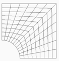 Curvilinear binlinear interpolated grid.png