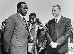 Cyrille Adoula - Adoula in 1965