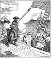 D'Iberville dans la baie d'Hudson face à trois vaisseaux anglais en 1697.jpg