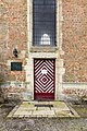 Dülmen, Kreuzkapelle, Eingangstür -- 2021 -- 7196.jpg