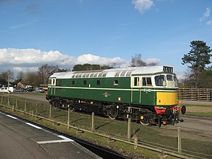 British Rail Class 27 - D5401 (27056) at the Great Central Railway