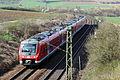 DB BR440 - Einfahrt Bahnhof Treuchtlingen (Bayern) - (Eisenbahn-Die Bahn) (13516656274).jpg