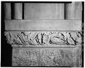 DETAIL OF STONE CARVING, BASEMENT CHAPEL - U. S. Military Academy, Cadet Chapel, West Point, Orange County, NY HABS NY,36-WEPO,1-20-22.tif