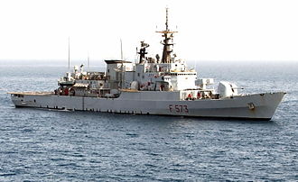 Maestrale-class frigate - Scirocco, Persian Gulf during Iraqi Freedom 2004