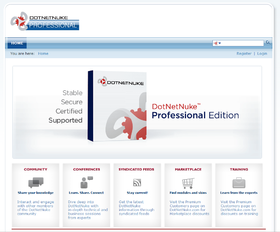 Image illustrative de l'article DotNetNuke