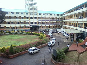D. Y. Patil College of Engineering and Technology, Kolhapur - The college main building