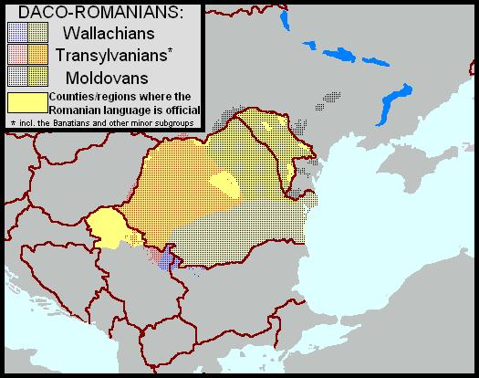Daco-Romanians (subgroups)