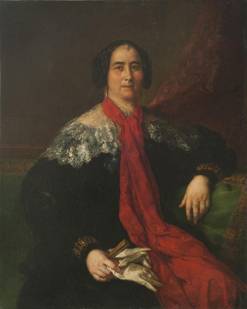 Dama espaсola (Retrato de una dama desconocida) - Vicente Lуpez y Portaсa.jpg