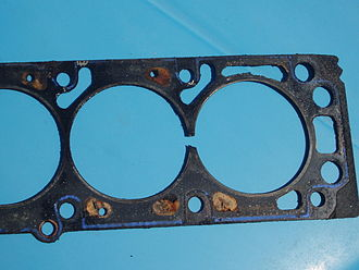 Head gasket - A damaged head gasket can allow gases to leak between cylinders.