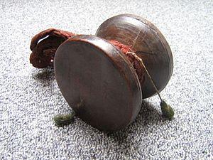 Damaru - A Tibetan damaru.