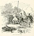 Daniel Boone At Battle of Blue Licks Indian History For Young Folks By Francis S Drake.jpg