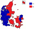 Danish Maastricht Treaty referendum results by county, 1992.png