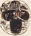 Dante Gabriel Rossetti - Nun looking out of a Quatrefoil Window.jpg