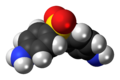 Dapsone 3D spacefill.png