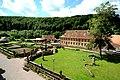 Das Kloster Bronnbach, der Abteigarten.jpg