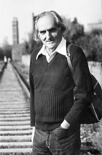 Yaroslav Dashkevych - in Lviv (late 1980s)