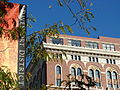 Davenport District Sign and Facade of Historic Davenport Hotel - Spokane WA - USA.jpg