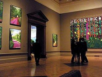 David Hockney - A Bigger Picture at the Royal Academy in 2012