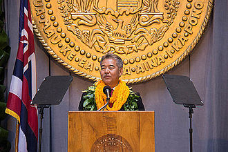 David Ige - Inauguration of David Ige as 8th Governor of Hawaii