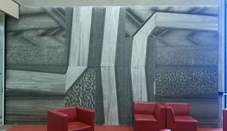 York University Libraries - Image: David Partridge, Strata (1969)