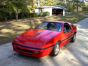 Dodge Daytona - 1987 Dodge Daytona Shelby Z