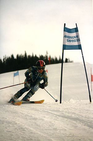 James Patterson (skier) - Australian Paralympic athlete James Paterson competing at the 1994 Lillehammer Winter Games
