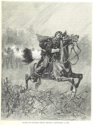 Battle of Chantilly - The death of General Kearny