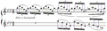 Debussy - Etude XI, mes.1-2.PNG