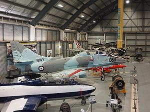 "Fleet Air Arm Museum (Australia) - The ""Defending the Fleet"" section of the museum"