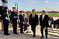 Defense.gov News Photo 111017-D-WQ296-004 - Secretary of Defense Leon E. Panetta right escorts Italian Minister of Defense Ignazio La Russa through an honor cordon and into the Pentagon in.jpg