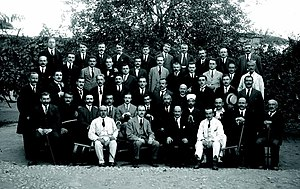 Lushnjë - Delegates of the Congress of Lushnjë in January, 1920
