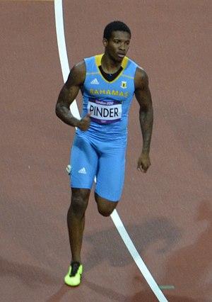Demetrius Pinder - Demetrius at the 2012 Olympics