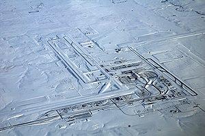 Global storm activity of 2006 -  Denver International Airport Dec 22 2006