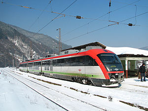 Bulgarian State Railways - Image: Desiro on the Sofia Lakatnik line, 14 February 2012