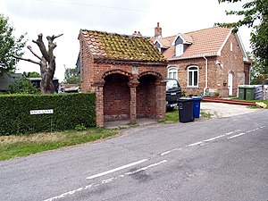 Searby cum Owmby - Detached Church Porch, Searby