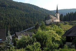 Deutsch-Griffen Place in Carinthia, Austria