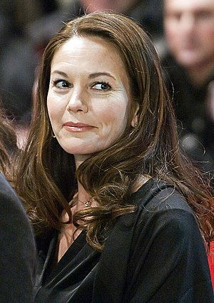 Diane Lane attending the premiere of True Grit...