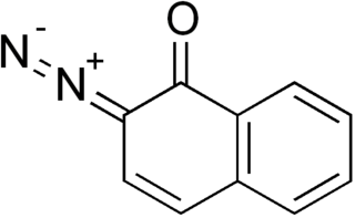 Diazonaphthoquinone chemical compound