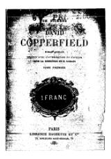 Dickens - David Copperfield, Hachette, 1894, tome 1.djvu