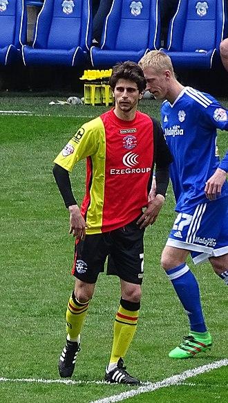 Diego Fabbrini - Fabbrini playing for Birmingham City in 2016.