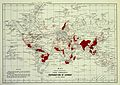 Distribution of leprosy around the world Wellcome L0032805.jpg