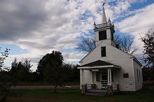 Passadumkeag, Maine - The Schoolhouse on Pleasant St.