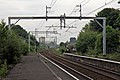 Disused platforms, new catenary, Patricroft railway station (geograph 4004276).jpg