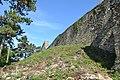 Divín - Divínsky hrad - hradbový múr (3).jpg