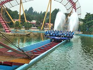 Dive Coaster (Chimelong Paradise) - Image: Dive Coaster 2 Chimelong Paradise Gaungzhou China